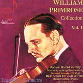 Legendary Treasures - William Primrose Collection Vol 1