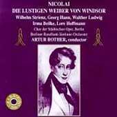 Nicolai: Die Lustigen Weiber von Windsor / Rother, et al
