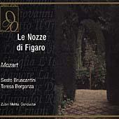 Mozart: Le Nozze di Figaro / Mehta, Bruscantini, Berganza