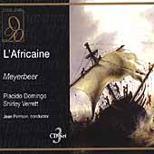 Meyerbeer: L'Africaine / Perrison, Domingo, Verrett, et al