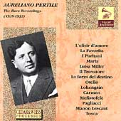 Vocal Archives - Aureliano Pertile - The Rare Recordings