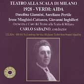 Teatro alla Scala di Milano - Verdi: Aida / Sabajno, et al