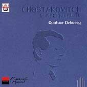 Chostakovitch: String Quartets Vol 1 / Quatuor Debussy