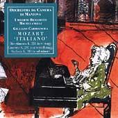 "Mozart ""Italiano"" - Divertimento No.11, Violin Concerto No.1, Symphony No.25"