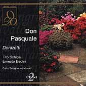 Donizetti: Don Pasquale / Sabajno, Schipa, Badini, et al