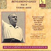 Vocal Archives - Beniamino Gigli Vol 8 - Verdi: Aida