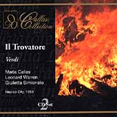 Callas Collection - Verdi: Il trovatore / Warren, et al