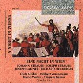 A Night in Vienna / Kleiber, Karajan, Walter, Krauss, et al