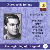 Vocal Archives - Giuseppe di Stefano - Lausanne 1944