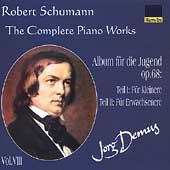 Schumann: Complete Piano Works Vol 8 / Joerg Demus