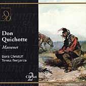Massenet: Don Quichotte / Simonetto, Christoff, Berganza