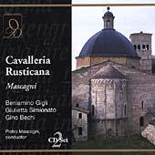 Mascagni: Cavalleria Rusticana / Mascagni, Gigli, et al