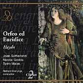 Haydn: Orfeo ed Euridice / Bonyngne, Sutherland, Gedda, etc