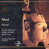 Grand Tier - Rossini: Mose / Sawallisch, Ghiaurov, Verrett, Petri, et al