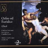 Gluck: Orfeo ed Euridice / Karajan, Simionato, Jurinac, etc