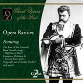 Great Voices of the Past - Opera Rarities