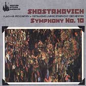 Shostakovich: Symphony no 10 / Fedoseyev, Ostankino Large SO