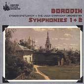 Borodin: Symphony no 1 & 2 / Svetlanov, USSR Symphony