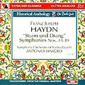 Haydn: Sturm und Drang Symphonies Nos. 44-49 / Janigro