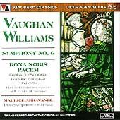 ヴォーン・ウィリアムズ: 交響曲第6番/われらに平和を与えたまえ