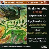 Rimsky-Korsakov: Antar;  Ippolitov-Ivanov, et al / Abravanel