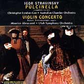 Stravinsky: Pulcinella, Violin Concerto / Abravanel, et al