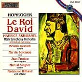 Honegger: Le Roi David / Abravanel, Davrath, Sorenson, et al