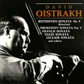 David Oistrakh plays Sonatas, Duos & Solos