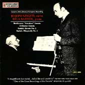 Beethoven, Debussy: Sonatas;  Bartok / Szigeti, Bartok