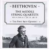 Beethoven: The Middle String Quartets / Fine Arts Quartet