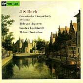Bach: Concertos for 2 harpsichords /Asperen, Leonhardt