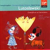 Lutoslawski: Five Songs etc / Harding, Kringelborn, NCO