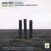 Paert: Summa, etc / Paavo Jaervi, Estonian National SO