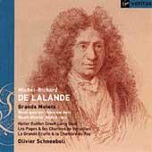 De Lalande - Grand Motets: Quam dilecta, etc / Schneebeli