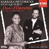 Operetta Duets / Barbara Hendricks, Gino Quilico
