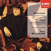 Hartmann: Symphony 3;  Ives / Metzmacher, Bamberg Symphony