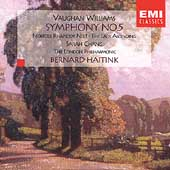 Vaughan Williams: Symphony No 5, etc / Chang, Haitink, et al