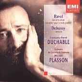 Ravel: Piano Concertos;  Debussy: Fantasie / Duchable, et al