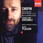 Chopin: Concertos pour Piano / Plasson, Duchable