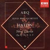 Haydn: String Quartets Op 76 no 1, 5, 6 / Alban Berg Quartet