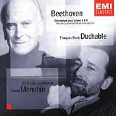 Beethoven: Piano Concertos / Duchable, Menuhin, et al