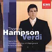 VERDI:OPERA ARIAS:THOMAS HAMPSON(Br)/RICHARD ARMSTRONG(cond)/OAE
