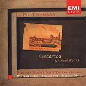 Telemann: Concertos & Unknown Works / Mayer, Kussmaul, et al