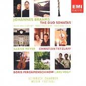 Brahms: The Duo Sonatas / Meyer, Tetzlaff, Vogt, et al