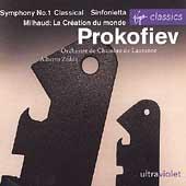 Ultraviolet - Prokofiev: Symphony no 1, etc;  Milhaud, et al