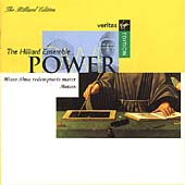Power: Missa Alma redemptoris mater, etc / Hilliard Ensemble