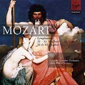 Mozart: Symphonies no 32, 35, 36, 39 and 41 / Saraste