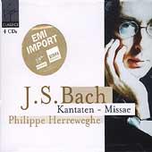 Bach: Kantaten, Missae / Herreweghe, Schlick, Mellon, et al