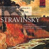 Stravinsky: Le chant du rossignol, etc / Saraste, et al