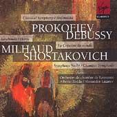 Prokofiev: Symphony no 1, etc;  Debussy, Milhaud, et al